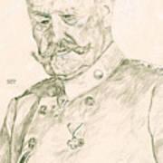 Paul Von Hindenburg Art Print