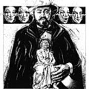 Pavarotti, Fidelio, Inking Art Print