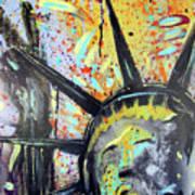 Peace And Liberty Art Print by Robert Wolverton Jr