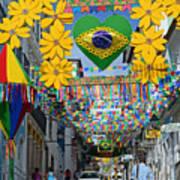 Pelourinho - The Historic Center Of Salvador Art Print