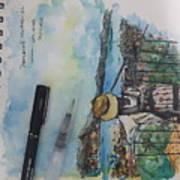 Penang Hills Art Print