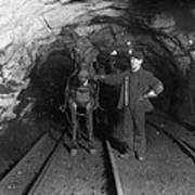 Pennsylvania: Coal Mine Art Print