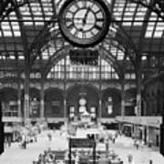 Pennsylvania Station, Interior, New Art Print