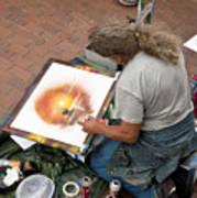 Performance Of Art Art Print