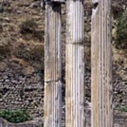 Pergamon Asklepion Colonnade Art Print