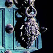 Peruvian Door Decor 6 Art Print