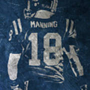 Peyton Manning Colts 2 Art Print