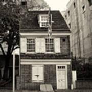 Philadelphia - The Betsy Ross House Art Print
