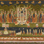 Pichwai 114 Art Print