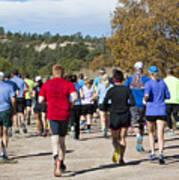 Pikes Peak Road Runners Fall Series IIi Race Art Print