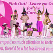 Pink Out Art Print