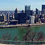 Pittsburgh Panorama Art Print