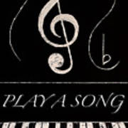Play A Song Art Print