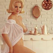 Playboy, Miss August 1962 Art Print