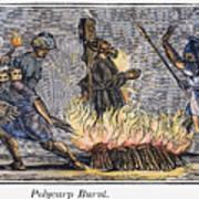 Polycarp Of Smyrna Art Print by Granger