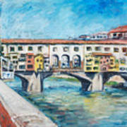 Pontevecchio Art Print