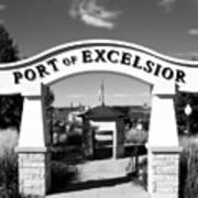 Port Of Excelsior Art Print