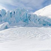 Portage Glacier, Alaska Art Print