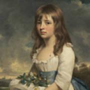 Portrait Of A Girl Art Print