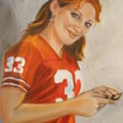 Portrait Of Ellie Art Print