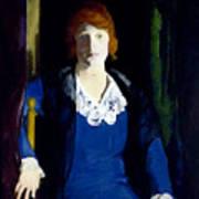 Portrait Of Florence Pierce Art Print