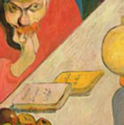 Portrait Of Jacob Meyer De Haan Art Print