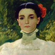 Portrait Of Maggie Wilson Art Print