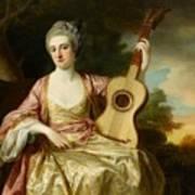 Portrait Of Maria Walpole Art Print