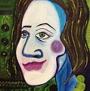 Portrat Of M.b. Art Print