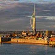 Portsmouth Harbour England  Art Print