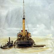 Portsmouth Art Print