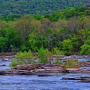 Potomac River Near Harpers Ferry Art Print