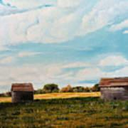 Prairie Homestead Art Print