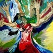 Praise Dance Art Print