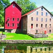 Prallsville Mill Art Print