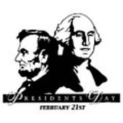 President's Day Art Print