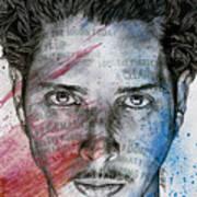 Pretty Noose - Tribute To  Chris Cornell Art Print