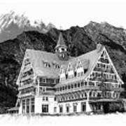 Prince Of Wales Hotel Art Print