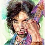 Prince Rogers Nelson Portrait Art Print