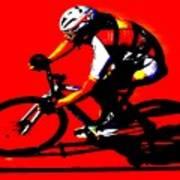 Pro Cycling Art Print