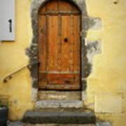 Provence Door Number 6 Art Print