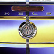Psychedelic Shelby Ford Mustang Trunk Lid And Badge 4 Art Print