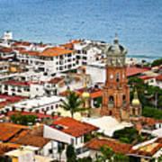 Puerto Vallarta Art Print