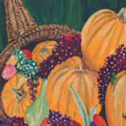 Pumpkin Plenty Art Print