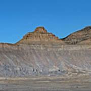 Pyramid Mountains In Emery County Utah Art Print