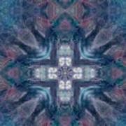 Queen Fairy Cross Art Print