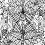 Queen Of Spades 2 Art Print