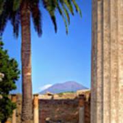 Quiet Vesuvius Art Print