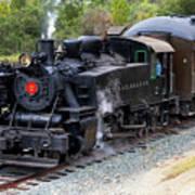 Quincy Railroad No. 2 Art Print