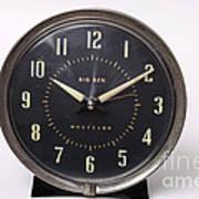 Radium Dial On Clock Art Print